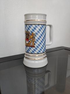 Фарфоровый пивной бокал BAYERN с гербом Баварии образца 1923 года