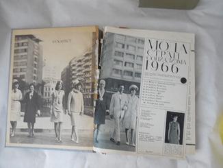 Книга из серии журналов Мода стран социализма 1965 г. 35 мм большой формат