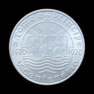 50 Эскудо 1970 Пять Столетий Сан-Томе и Принсипи в Составе Государства, Португалия