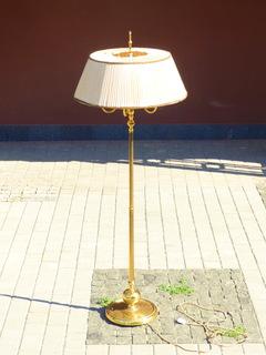Элегантный торшер винтажного возраста, 5 лампочек