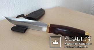 Охотничий нож Muela BUFALO-17RR в чехле, Испания.