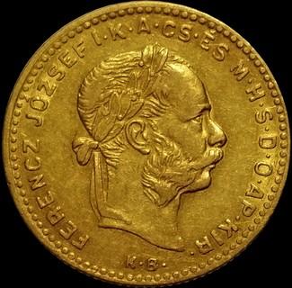 10 франків-4 форинти 1885 року, Австро-Угорщина