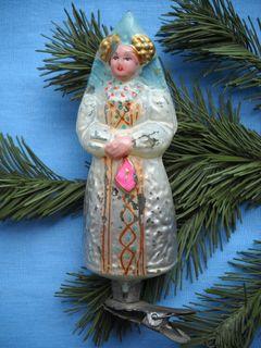 Елочная игрушка царевна Несмеяна