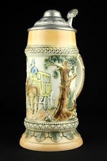 Пивная кружка Sitzendorf Porcelain. Германия (0357)