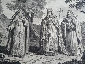 Священнослужители Русские. Оригинал. Верже