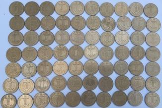 1 гривна 2004 год (70 шт.)