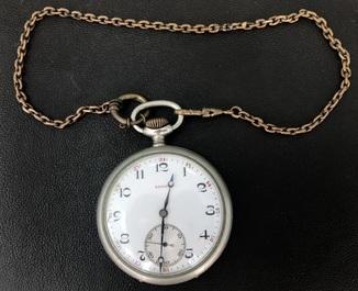 Карманные часы ZENITH На ходу + цепочка