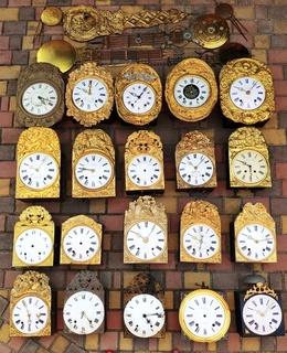 Коллекция французских часов, 20 шт.