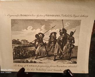 1789 Король Конго. Congo. Оригинал