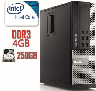 Системный блок DELL 790 SFF i5-2400/DDR3 4Gb/250Gb
