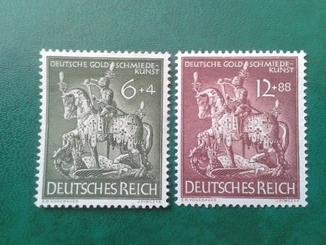 Германия рейх-№860-861 MNH