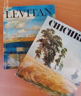 2 Великих художника Левитан и Шишкин, альбомы