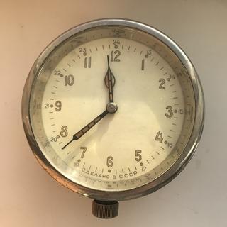 Корабельные часы 1-56 1588 Хром Ранние