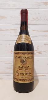 1986 Marcenasco Barolo RanatoRatti 750ml. 13.5%vol.