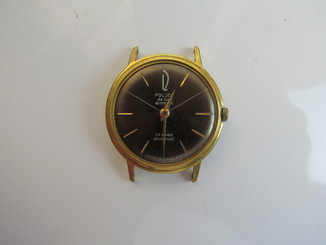 Часы Poljot de luxe автоподзавод позолота