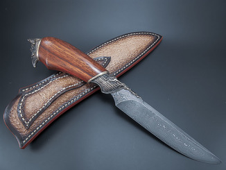 Нож, дамаск.