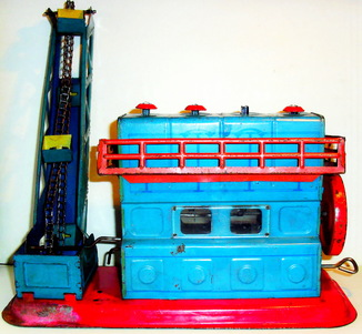 Детская заводная механическая игрушка из СССР