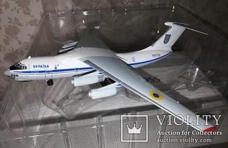 Коллекционная модель : ИЛ-76 ТД. Украина