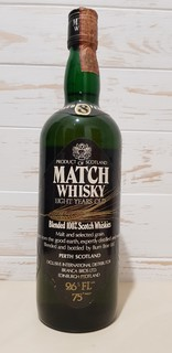 Match Whisky 8 Year Old - 1970s (75cl, 43%)