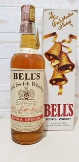 Bell`s Old Scotch Whisky    cl.75  gr.43  1970-80S +BOX