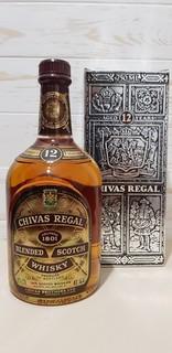 Chivas Regal 12 YO 75cl. 43% 80-s  +BOX