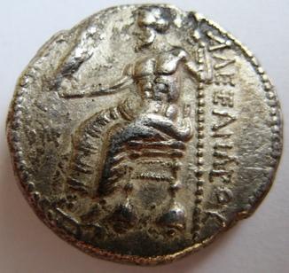Древняя Греция, г. Paeonia, тетрадрахма, (336-323 гг. до н.э.) Александр Македонский