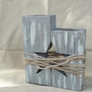 Підсвічник деревяний