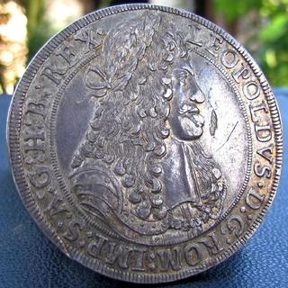 Талер 1683 р. Леопольд