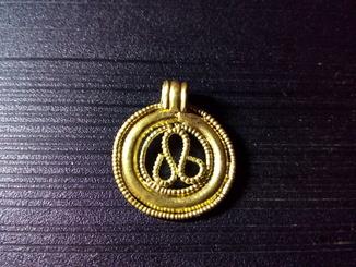 Золотой Амулет ЧК Символ Плодородия