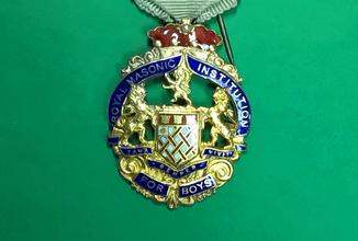Масонский знак STEWARD. Серебро. RMIВ 1921 г.
