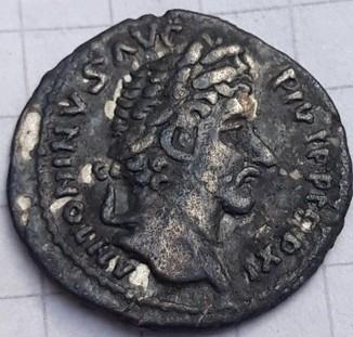 Подражание римского денария