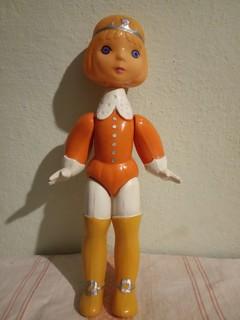 "Кукла целлулоид ""принц"" на резинках СССР"
