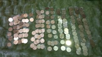 Юбилейные монеты одна гривна Украины 160 штук