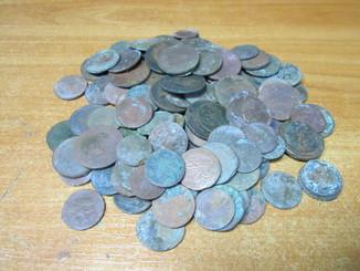 Монеты 133 шт. на опыты и так далее