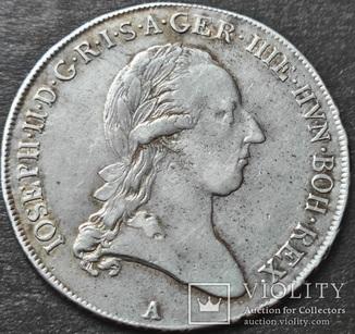 1/2 кроненталера 1788 года, Австрийские Нидерланды,  Иосиф II, A — Венa