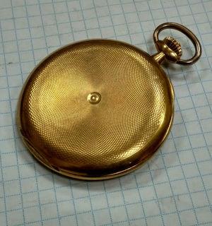 "Золотые карманные часы ""Audemars Freres"" 56 пробы"