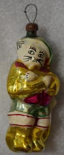 Елочная игрушка - Кот в сапогах