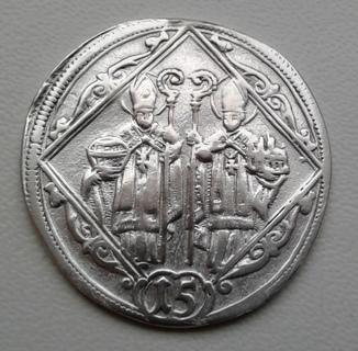 15 крейцеров 1694 г. Зальцбург.