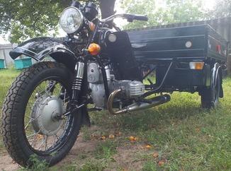 Мотоцикл КМЗ «Днепр 300» 1989г.  Капсула времени + Видео обзор