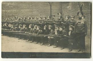 Мария Бочкарева и 1-й Женский Батальон Смерти. Фото 2. 1917 г.