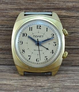 Часы СССР Полет будильник Au5