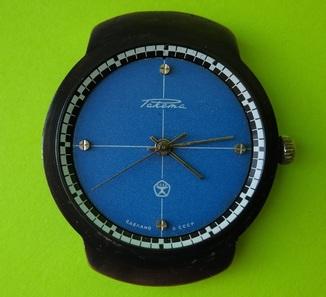 Часы. Ракета / Синий цифер - на ходу