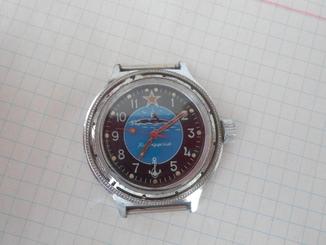 1260..часы камандирские на ходу