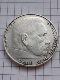 2 марки 1937 год.