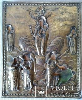 Икона Всем скорбящим радость 1799 год.