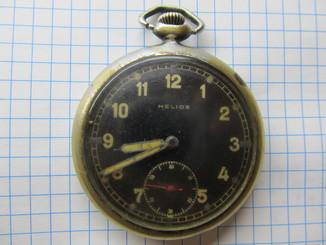 Часы карманные - Helios DH, идут