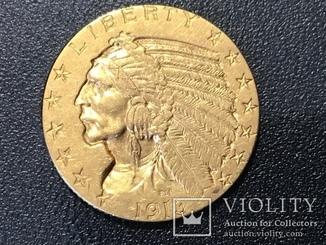 5 долларов сша 1913 г. Золото