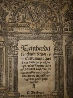 1558О воспитании государя Польша