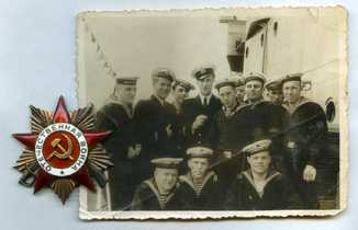 ОВ1 Отечественная война 1 ст. на моряка