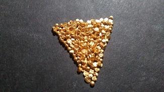 Золотые контакты из реле 5,45 грамм